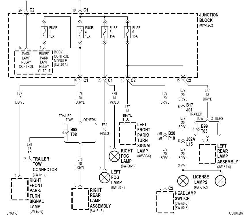 Электрические схемы додж дюранго