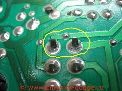 электро схема додж крайслер