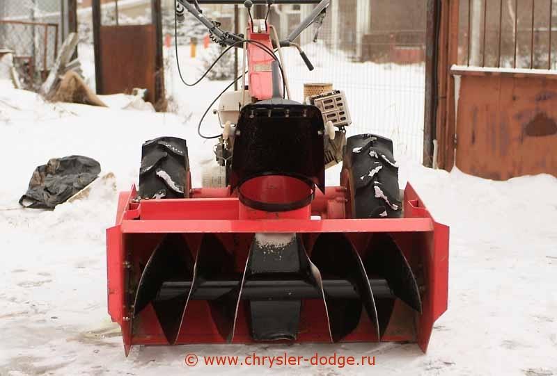 Снегоуборочная насадка на мотоблок своими руками